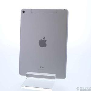 〔中古〕Apple(アップル) iPad Pro 9.7インチ 32GB スペースグレイ MLPW2J/A au|y-sofmap