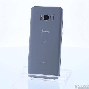 〔中古〕SAMSUNG(サムスン) GALAXY S8+ 64GB アークティックシルバー SCV35 au y-sofmap