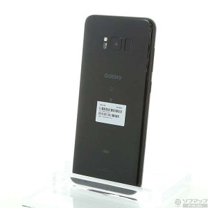 〔中古〕SAMSUNG(サムスン) GALAXY S8+ 64GB ミッドナイトブラック SCV35 au y-sofmap