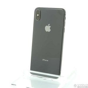 〔中古〕Apple(アップル) iPhoneXS Max 512GB スペースグレイ MT6X2J/A au 〔ネットワーク利用制限▲〕|y-sofmap