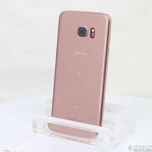 〔中古〕SAMSUNG(サムスン) GALAXY S7 edge 32GB ピンクゴールド SCV33 au y-sofmap