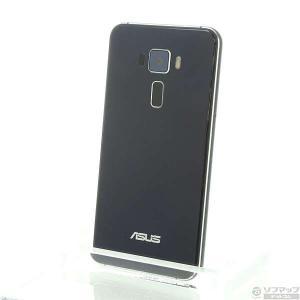 〔中古〕ASUS(エイスース) 〔展示品〕 ZenFone 3 32GB サファイアブラック ZE5...