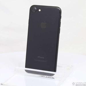 〔中古〕Apple(アップル) iPhone7 128GB ブラック MNCK2J/A SoftBank 〔ネットワーク利用制限▲〕|y-sofmap
