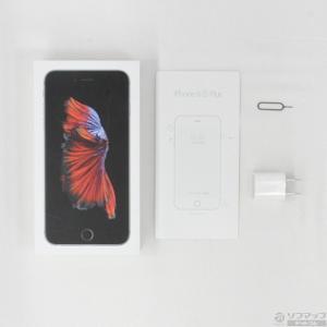 〔中古〕Apple(アップル) iPhone6s Plus 64GB スペースグレイ MKU62J/A auロック解除SIMフリー y-sofmap 05