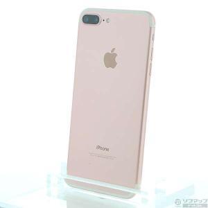 〔中古〕Apple(アップル) iPhone7 Plus 128GB ローズゴールド MN6J2J/A auロック解除SIMフリー 〔ネットワーク利用制限▲〕|y-sofmap