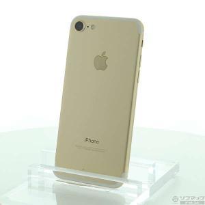 〔中古〕Apple(アップル) iPhone7 32GB ゴールド MNCG2J/A au 〔ネットワーク利用制限▲〕|y-sofmap