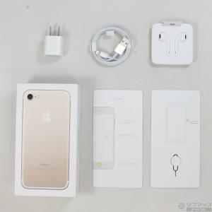 〔中古〕Apple(アップル) iPhone7 32GB ゴールド MNCG2J/A au 〔ネットワーク利用制限▲〕|y-sofmap|05