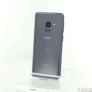 〔中古〕SAMSUNG(サムスン) GALAXY S9 64GB チタニウムグレー SCV38 au...