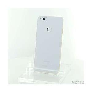 〔中古〕HUAWEI(ファーウェイ) HUAWEI P10 lite 32GB パールホワイト HW...
