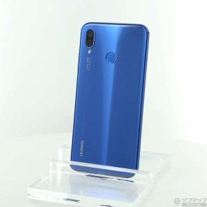 〔中古〕HUAWEI(ファーウェイ) HUAWEI P20 lite 32GB クラインブルー HW...