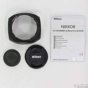 〔中古〕Nikon(ニコン) Nikon AF-S DX NIKKOR 16-80mm f/2.8-4E ED VR y-sofmap 05