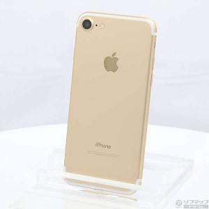 〔中古〕Apple(アップル) iPhone7 128GB ゴールド MNCM2J/A au 〔ネッ...