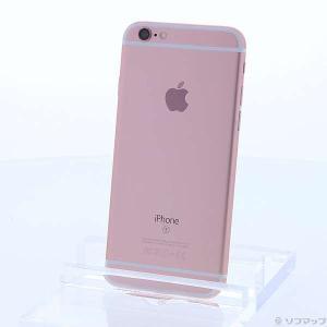 〔中古〕Apple(アップル) iPhone6s 16GB ローズゴールド MKQM2J/A SoftBankロック解除SIMフリー〔10/14(月)新入荷〕 y-sofmap