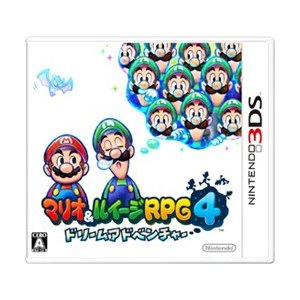〔中古〕Nintendo(任天堂) マリオ&ルイージRPG4 ドリームアドベンチャー 〔3DS〕〔10/22(火)新入荷〕|y-sofmap
