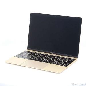 〔中古〕Apple(アップル) MacBook 12-inch Mid 2017 MNYK2J/A ...