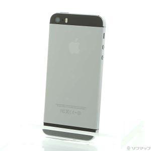 〔中古〕Apple(アップル) iPhone5S 64GB スペースグレイ ME338J/A SIM...
