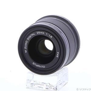 〔中古〕OLYMPUS(オリンパス) M.ZUIKO DIGITAL 25mm F1.8 (ブラック...