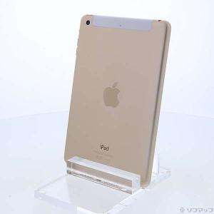 〔中古〕Apple(アップル) iPad mini 3 16GB ゴールド MGYR2J/A doc...