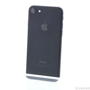 〔中古〕Apple(アップル) iPhone7 128GB ブラック MNCK2J/A SoftBa...