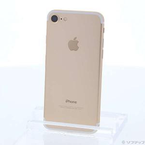 〔中古〕Apple(アップル) iPhone7 32GB ゴールド MNCG2J/A au〔02/2...