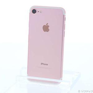 〔中古〕Apple(アップル) iPhone7 32GB ローズゴールド MNCJ2J/A au〔0...