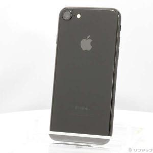 〔中古〕Apple(アップル) iPhone7 256GB ジェットブラック NNCV2J/A SI...