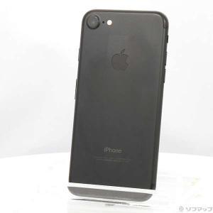 〔中古〕Apple(アップル) iPhone7 32GB ブラック MNCE2J/A au〔02/2...
