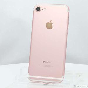 〔中古〕Apple(アップル) iPhone7 128GB ローズゴールド NNCN2J/A au〔...