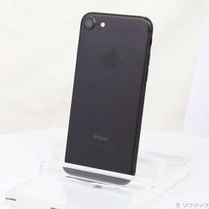 〔中古〕Apple(アップル) iPhone7 256GB ブラック MNCQ2J/A auロック解...