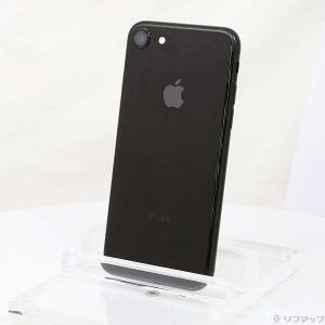 〔中古〕Apple(アップル) iPhone7 32GB ジェットブラック MQTY2J/A Sof...