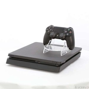 〔中古〕ソニー PlayStation 4 ジェット・ブラック 500GB CUH-2200AB01