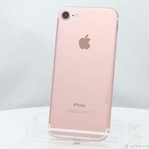 〔中古〕Apple(アップル) iPhone7 128GB ローズゴールド MNCN2J/A au〔...