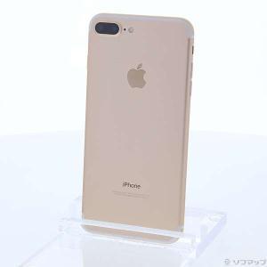 〔中古〕Apple(アップル) iPhone7 Plus 32GB ゴールド MNRC2J/A au...