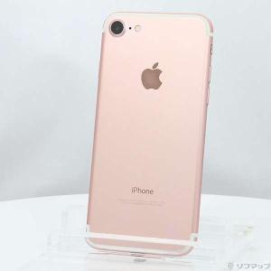 〔中古〕Apple(アップル) iPhone7 128GB ローズゴールド MNCN2J/A Sof...