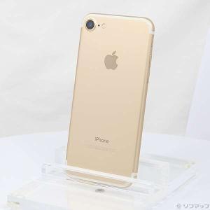 〔中古〕Apple(アップル) iPhone7 128GB ゴールド MNCM2J/A docomo...