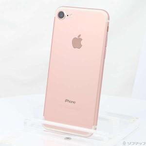 〔中古〕Apple(アップル) iPhone7 32GB ローズゴールド MNCJ2J/A doco...