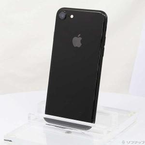 〔中古〕Apple(アップル) iPhone7 128GB ジェットブラック MNCP2J/A do...