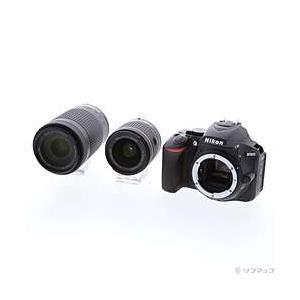 〔中古〕Nikon(ニコン) NIKON D5600 ダブルズームキット ブラック (2416万画素...
