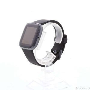 〔中古〕FITBIT Fitbit Versa 2 ブラック/カーボン〔05/25(月)新入荷〕
