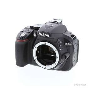 〔中古〕Nikon(ニコン) NIKON D5300 ボディ (2410万画素/ブラック/SDXC)