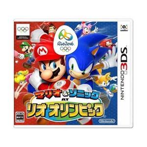 〔中古〕Nintendo(任天堂) マリオ&ソニック AT リオオリンピック 〔3DS〕