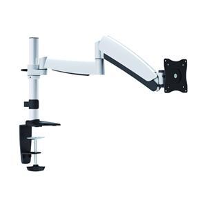 【ノックダウン組立式】VESAマウント規格75mm/100mm対応、4軸液晶ディスプレイ用アーム
