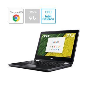 〔コンバーチブルノートパソコン:Chromebook〕 Acer Chromebook初、フロント/...