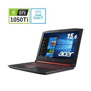Acer(エイサー) 15.6型ゲーミングノートパソコン Acer Nitro 5 Core i7 メモリ16GB SSD128GB+HDD1TB GTX1050Ti Windows10 AN515-52-N76H シェールブラック y-sofmap