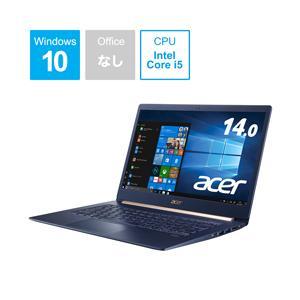 Acer(エイサー) SF514-53T-H58Y/B 14.0型ノートパソコン Core i5 メモリ8GB SSD512GB Windows10 チャコールブルー (SF51453TH58YB) y-sofmap