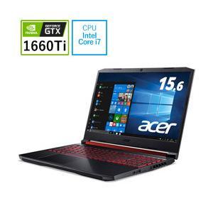 Acer(エイサー) ゲーミングノートPC AN515-54-A76UG6T オブシディアンブラック [Core i7・15.6インチ・メモリ 16GB・GTX 1660 Ti]|y-sofmap