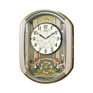セイコー RE567G 電波からくり掛け時計 「ウェーブシンフォニー」|y-sofmap