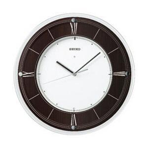 セイコー KX321B (茶木地塗装) 電波掛け時計 「インターナショナル・コレクション」  【お届け日時指定不可】 [代引不可]|y-sofmap