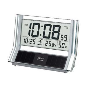 セイコー SQ690S (シルバー) 電波置き時計|y-sofmap
