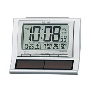 セイコー ソーラー電波目覚し時計 SQ751W|y-sofmap